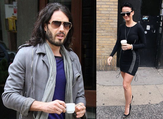 Photos of Russell Brand and Katy Perry