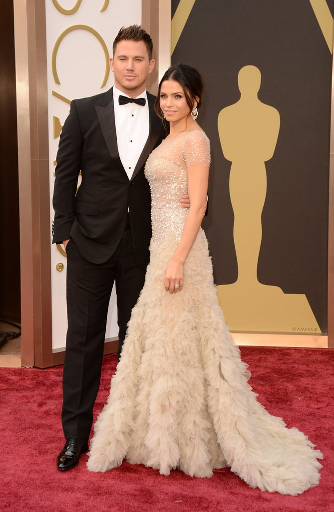 Love was in the air at the 2014 Academy Awards, where cute celebrity couples shared adorable moments throughout the event. On the red carpet, expecting parents Olivia Wilde and Jason Sudeikis snapped a few pictures of their own, while Matthew McConaughey and Camila Alves were all smiles posing for photos. Take a look at all the sweetest PDA moments from Oscars night, and be sure to check out all the red carpet arrivals!