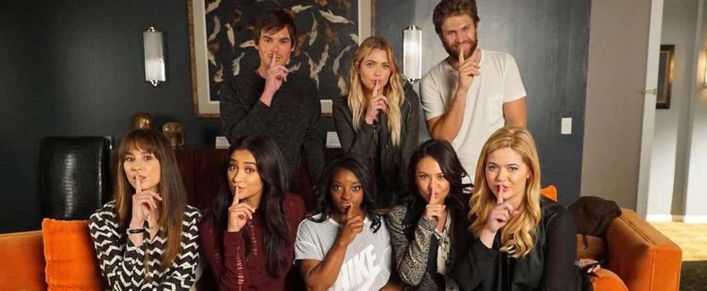 These Pictures of Simone Biles and the Pretty Little Liars Cast Deserve an A+