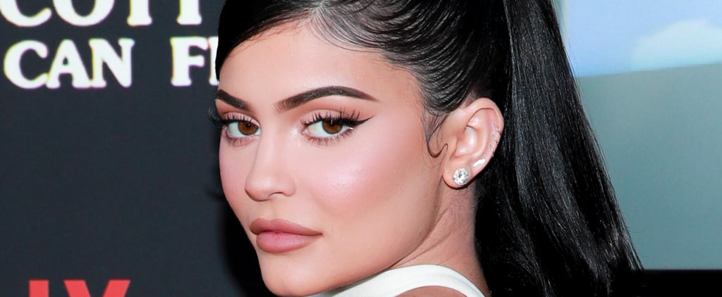 Kylie Jenner's Mismatched Neon French Manicure