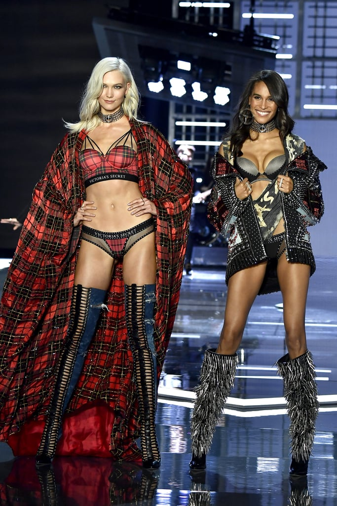 Pictured: Karlie Kloss and Cindy Bruna