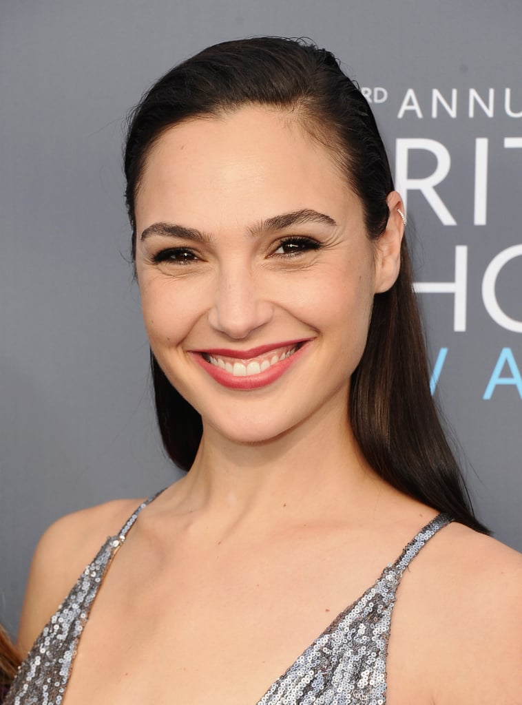 Gal Gadot Barely Needs Any Makeup to Look Old-Hollywood Glam