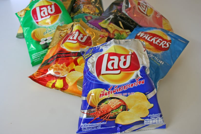 Taste Test: Lay's Potato Chip Flavors From All Over the World