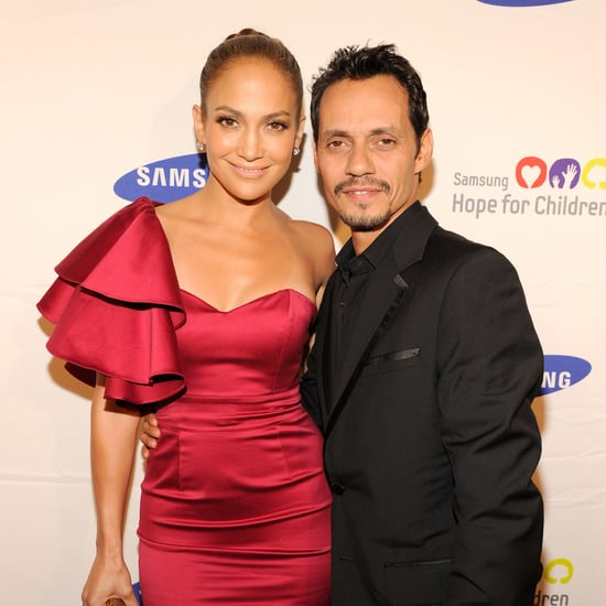 Jennifer Lopez and Marc Anthony at Son's Recital