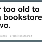 The timelessness of book love.
