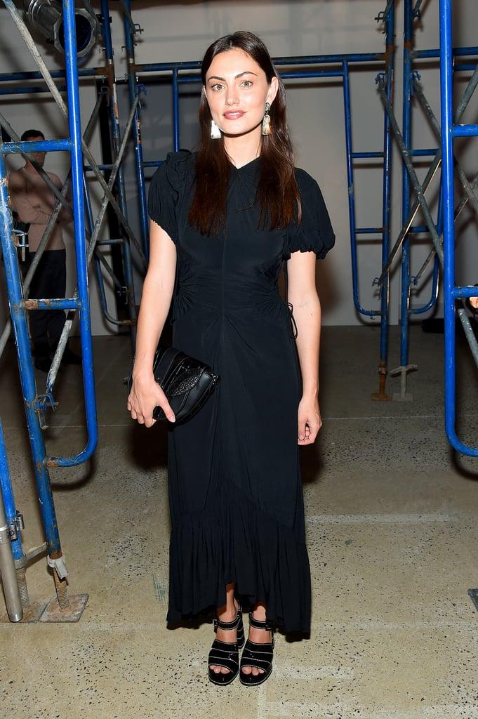 Phoebe Tonkin at the Proenza Schouler New York Fashion Week Show