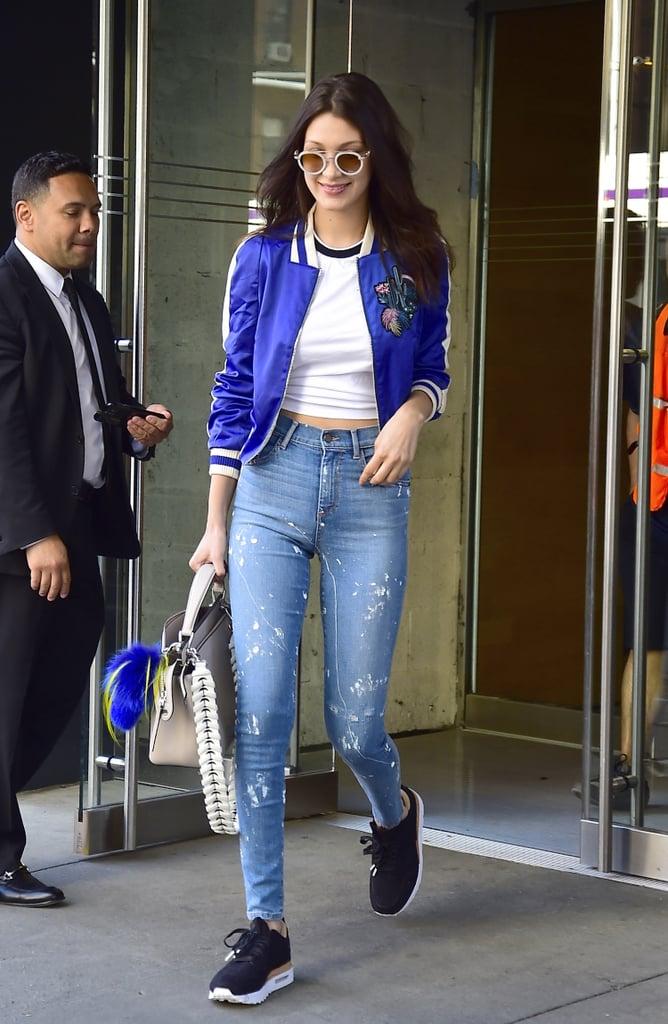 Models Wearing Skinny Jeans
