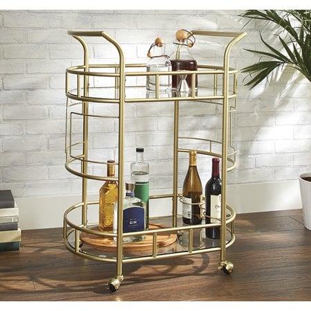 Better Homes & Gardens Fitzgerald 2-Tier Serving Cart