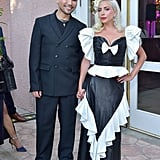 See More Photos of Lady Gaga in Her Rodarte Dress With Hairstylist Frederic Aspiras