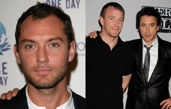 Sugar Bits — Jude Law Is Watson to Downey Jr's Holmes