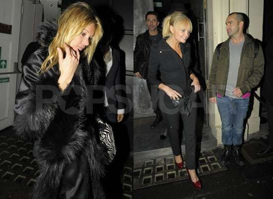 Photos of Kate Moss, Emma Bunton, Pineapple Dance Studio's Louie Spence, Mel Blatt at Chinawhite