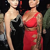 Cara Delevingne and Amber Rose