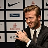 David Beckham Joins Paris St. Germain Soccer Team