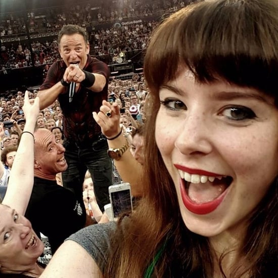 Bruce Springsteen Selfie at Sydney Concert