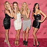 Sexy, sexy, sexy, and more sexy — the Victoria's Secret vixens rocking their personal styles; we liked Candice Swanepoel's Alexander Wang best.