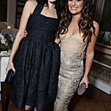 Jessica Pare and Lea Michele attended the Marie Claire Hollywood Dinner in LA.