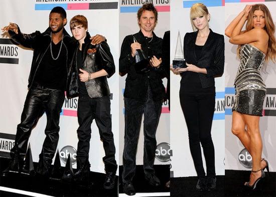 2010 American Music Awards Press Room