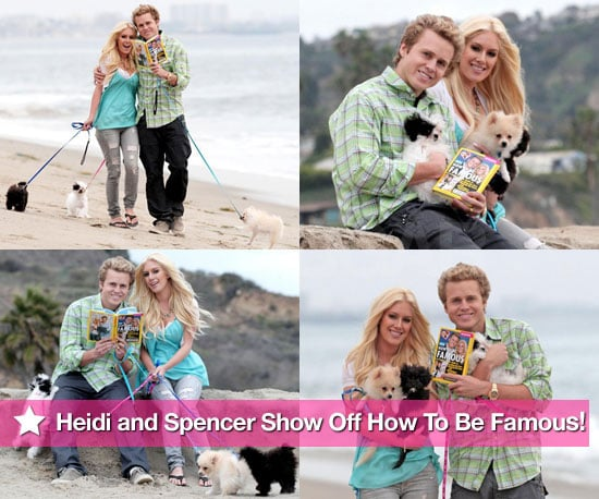 Photos of Heidi and Spencer at the Beach With Their New Book in LA
