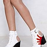 Nasty Gal Back It Up Flame Booties