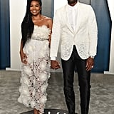 Gabrielle Union and Dwyane Wade at the Vanity Fair Oscars Afterparty