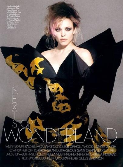 Rachel McAdams does Elle mag-april 07