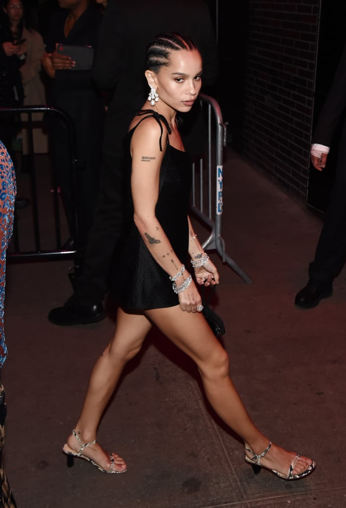 Zoë Kravitz at the Met Gala Afterparty