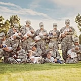 The Mother Who Photographed These Military Servicewomen Breastfeeding