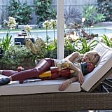 "Trophy Wife Kate (Malin Akerman) snoozes on Trophy Wife's holiday episode, ""Twas the Night Before Christmas . . . or Twas It?"" airing on Tuesday, Dec. 10, on ABC."