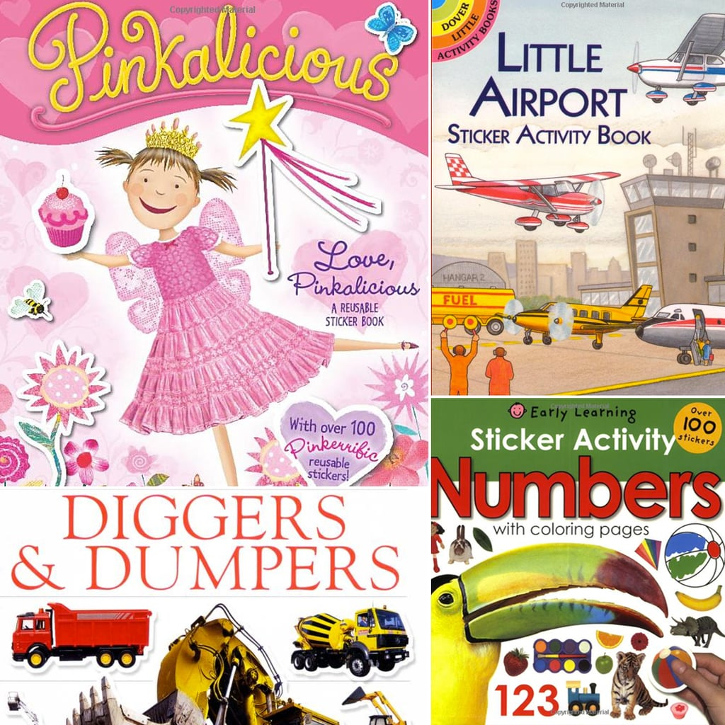 Peel and Play: Fun Sticker Books For Kids