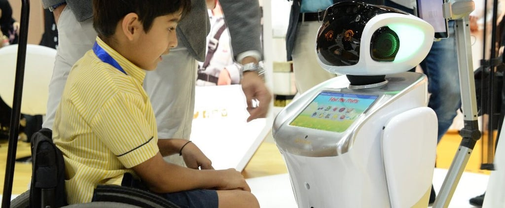 Robots Assisting Teachers at Autism Schools in UAE