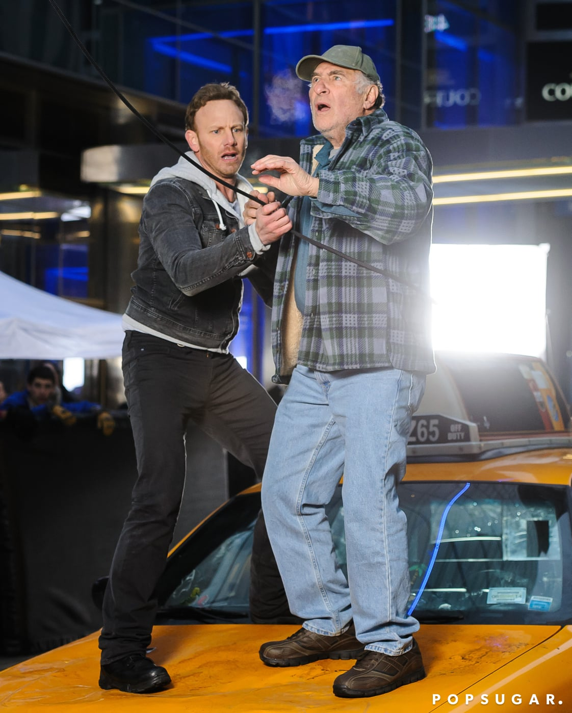 Ziering helped another character.