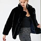 Apparis Manon Oversized Faux Fur Coat