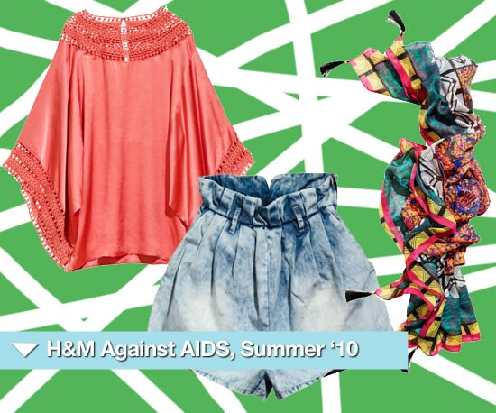H and M Summer 2010 Festival Pieces for Fashion Against AIDS