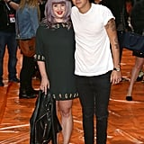 Kelly Osbourne's best accessory of the week (so far): Harry Styles.