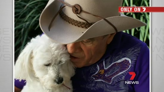 First Pictures of Molly Meldrum on the Road to Recovery