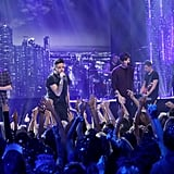 One Direction Performing on Dick Clark's New Year's Rockin' Eve in 2015