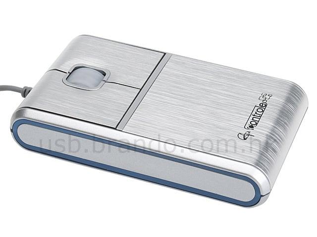 Sleek Aluminum Mouse By Brando