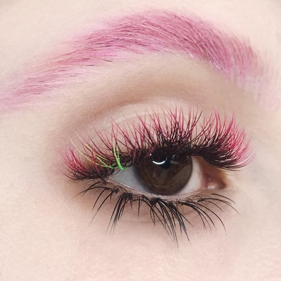 Colored Eyelash Extensions