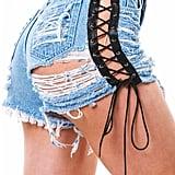 Beyoncé's Exact Denim Shorts