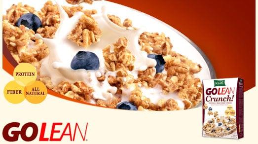 Free Kashi GoLean Crunch Cereal