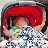How to move a sleeping baby from the car to the house without waking him.