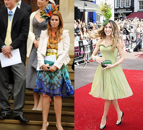Double Take: Princess Beatrice Channels SJP
