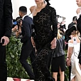 Zoe Kravitz Saint Laurent Met Gala Dress 2018