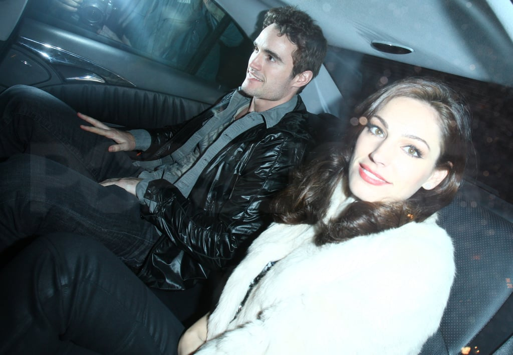 Pictures of Kelly Brook and Thom Evans On A Date At Mahiki in London