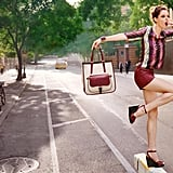 Coco Rocha is the picture of balancing-act cool in Longchamp's Spring '12 ads. Source: Fashion Gone Rogue