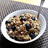 Vegetarian: Blueberry Banana Almond Oatmeal