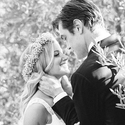 Ashley Tisdale and Christopher French Wedding Pictures