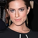 Allison Williams at Diane von Furstenberg Spring 2014.