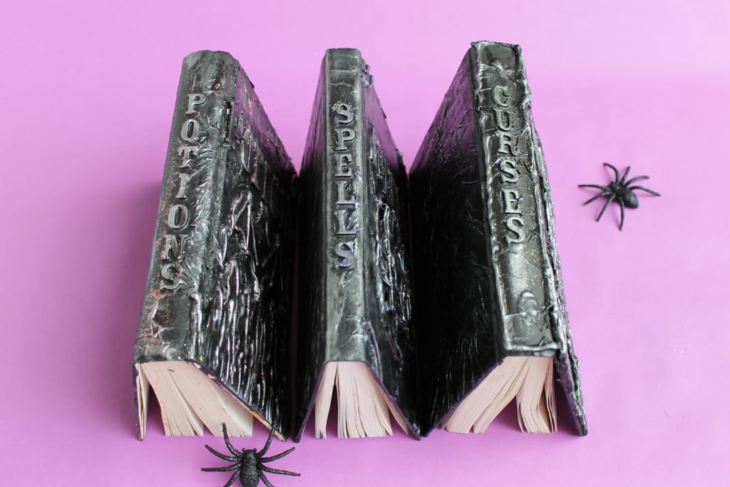 DIY Halloween Spell Books