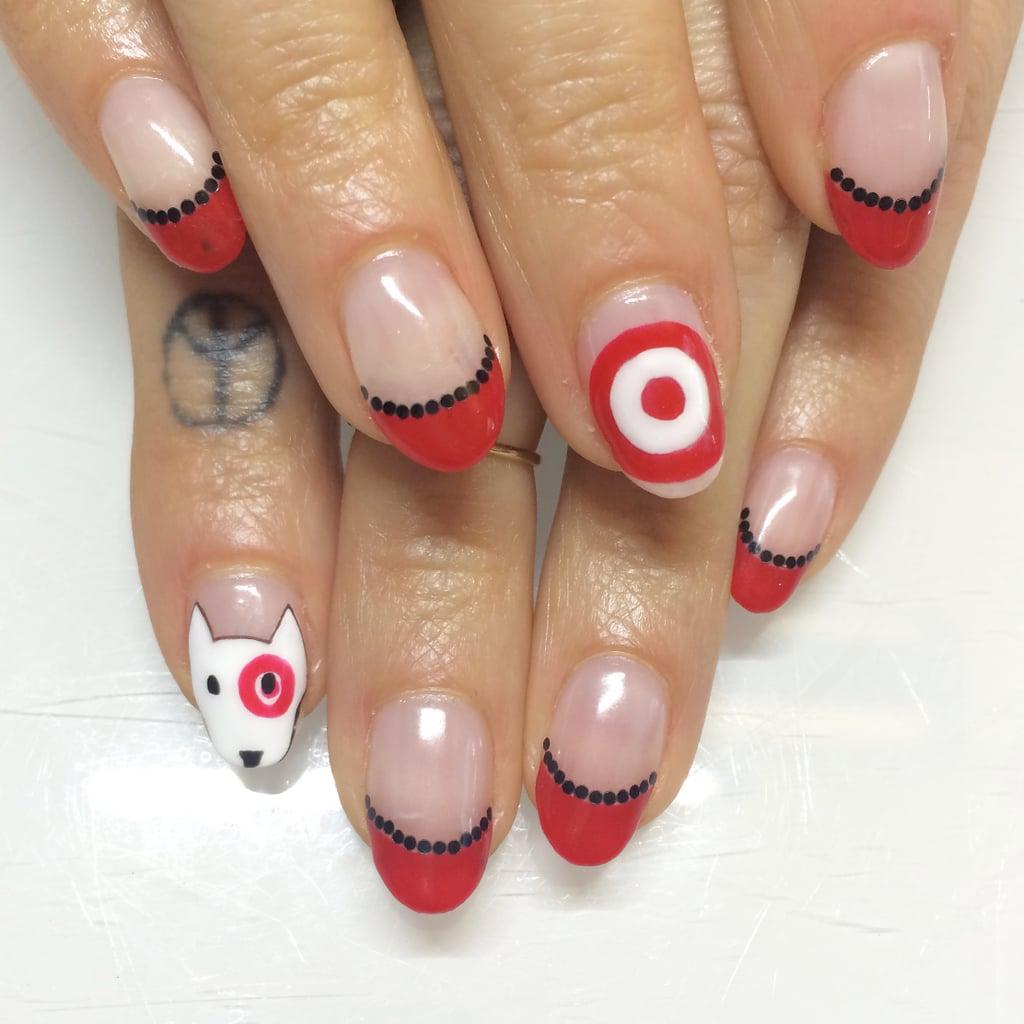 Bulls Eye Nail Art Ideas For Work Popsugar Beauty Photo 6